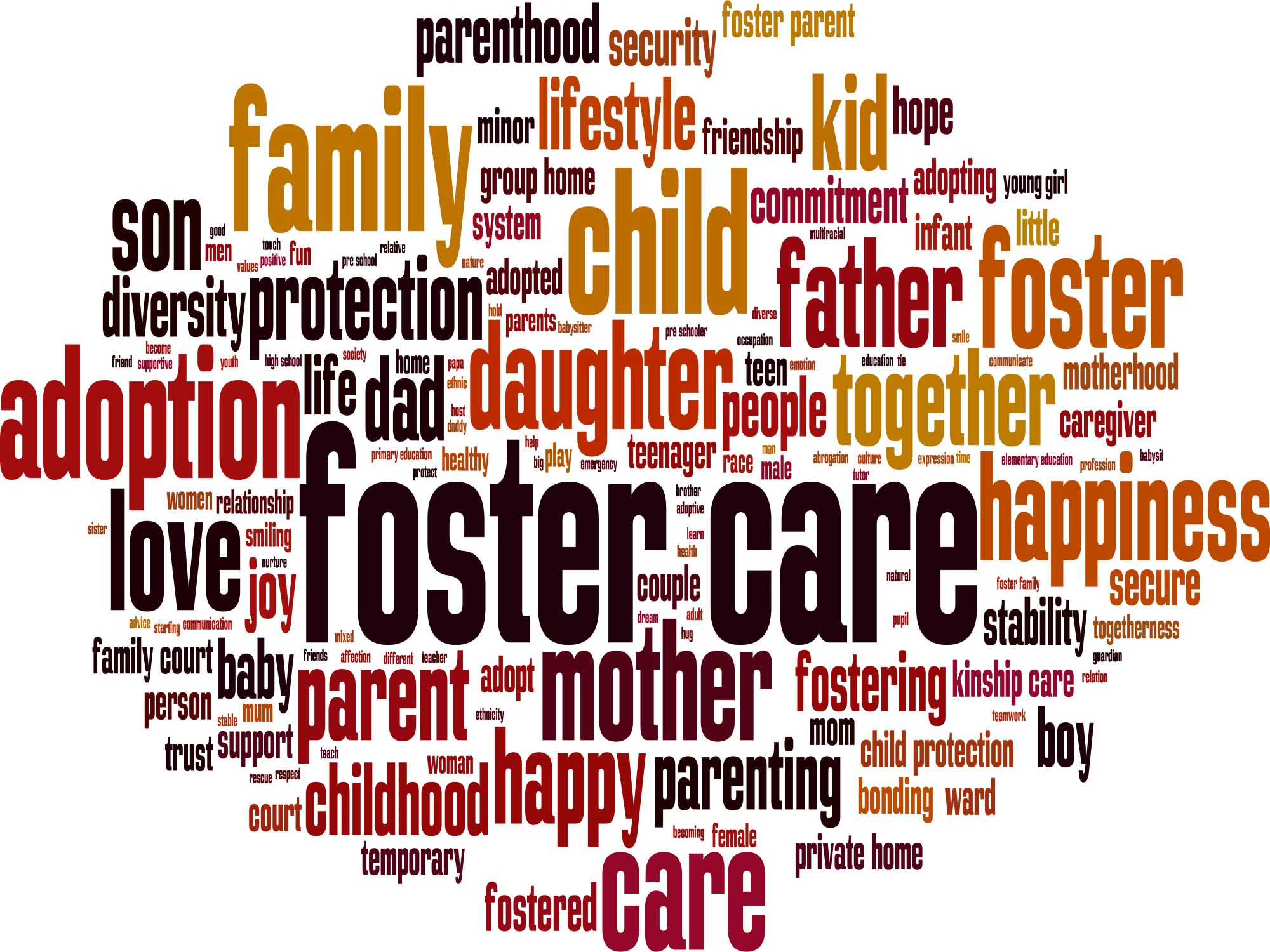 Digital journal for records and logs for Foster Care