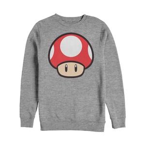 Mario Power Up BO Crew Fleece - Long Sleeve Shirt