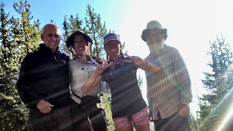 Brendan, Bluejay, Sunkist, and Gravity