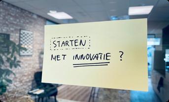 Starten met innovatie