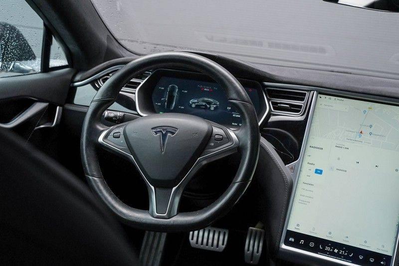 Tesla Model S 85D Performance 700pk Free Charging Pano Leer afbeelding 17