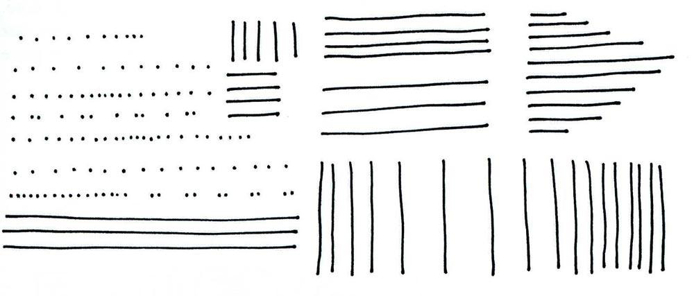 tracés de formes simples