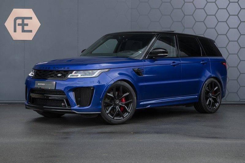 Land Rover Range Rover Sport SVR 5.0 V8 SC ESTORIL BLUE afbeelding 1