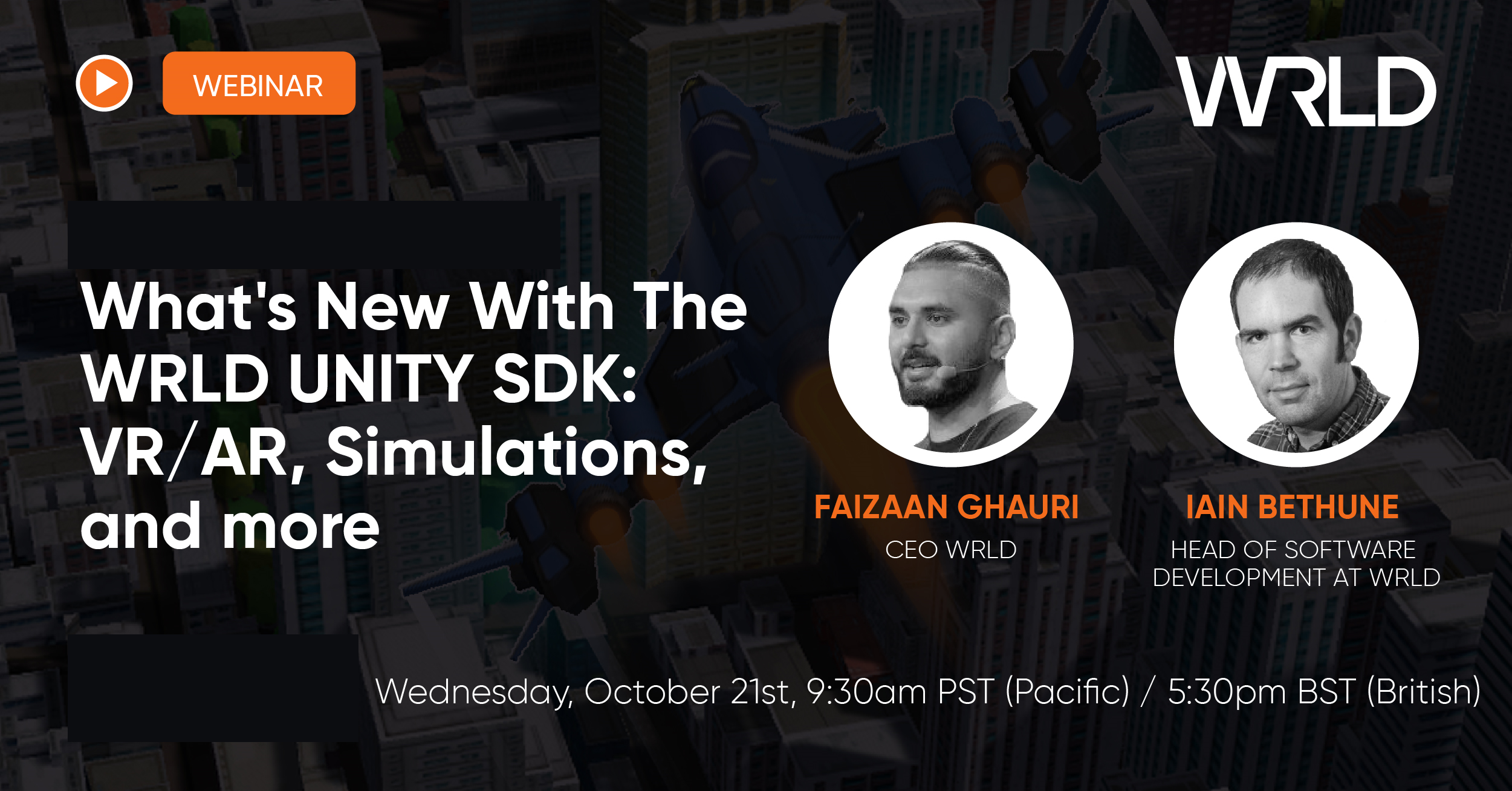 Webinar - What's new with WRLD's Unity SDK v0.8
