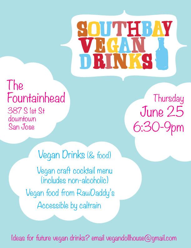 South Bay Vegan Drinks June 2015