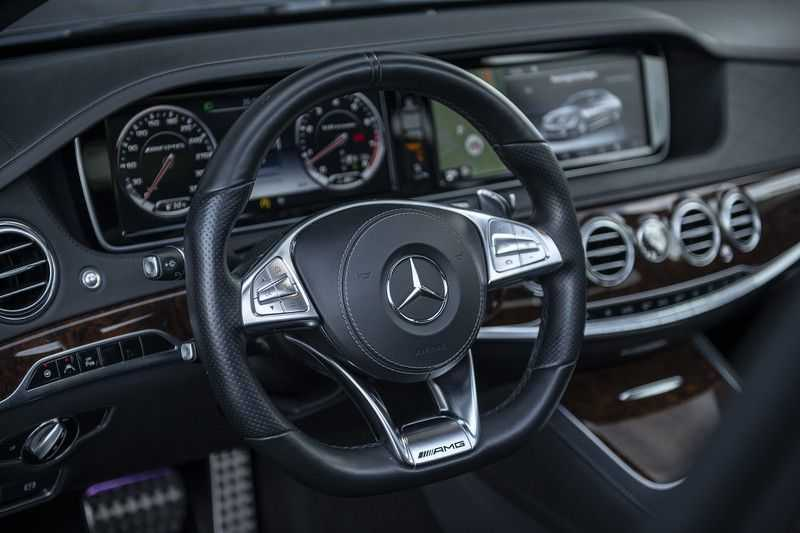 Mercedes-Benz S63 AMG Lang 4-Matic BTW-auto + Magnetite Black + Panoramadak S 63 DISTRONIC Plus + MASSAGE afbeelding 6