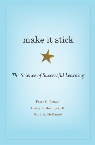 Book cover of 'Make It Stick'