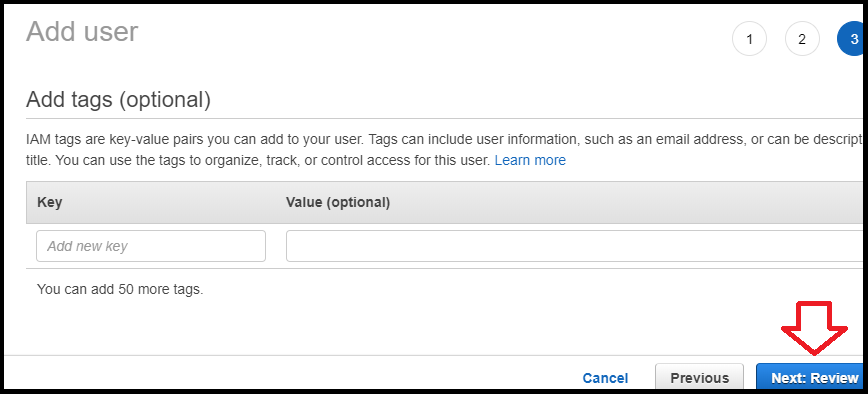 adding user in AWS IAM to display AWS billing info in Slack