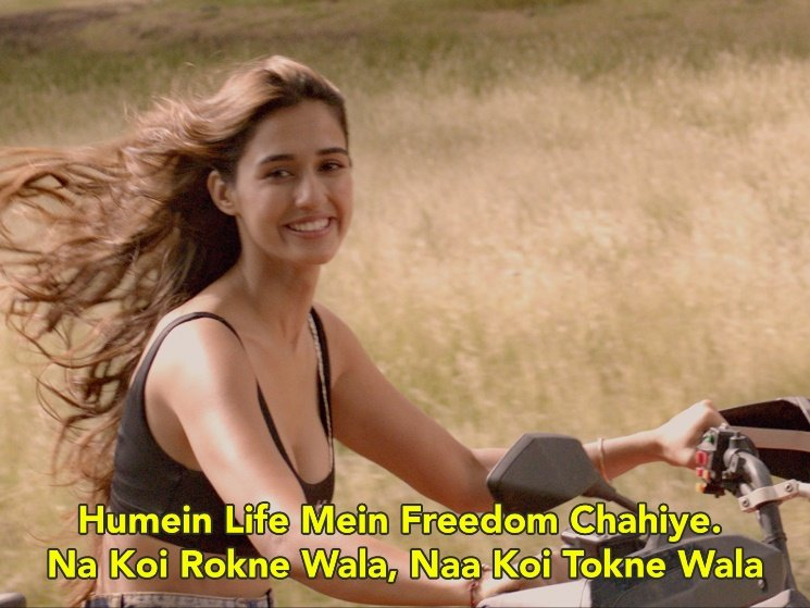 Disha Patani in Malang Trailer Humein Life Mein Freedom Chahiye. Na Koi Rokne Wala, Na Koi Tokne Wala