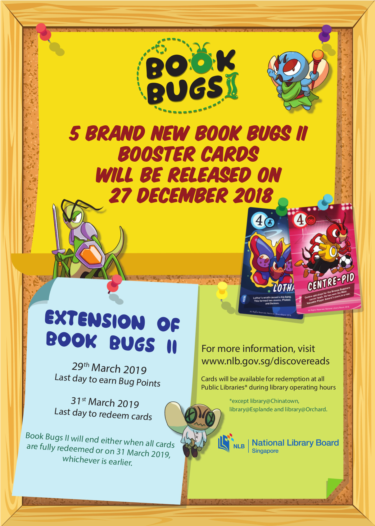 Bookbugs II poster