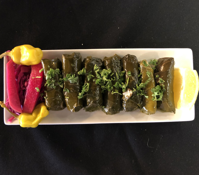 Gyro Love in Bristol & Cromwell - Grape Leaves