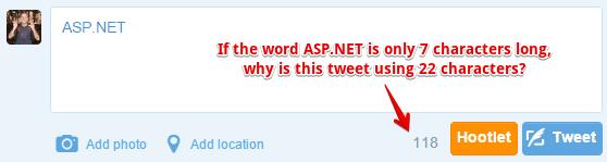 problem tweet