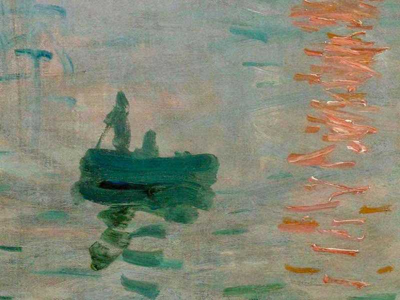 ... but the term 'Impressionism' was initially intended as an insult