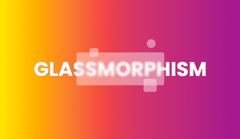 Glassmorphism - new trend in user interfaces design