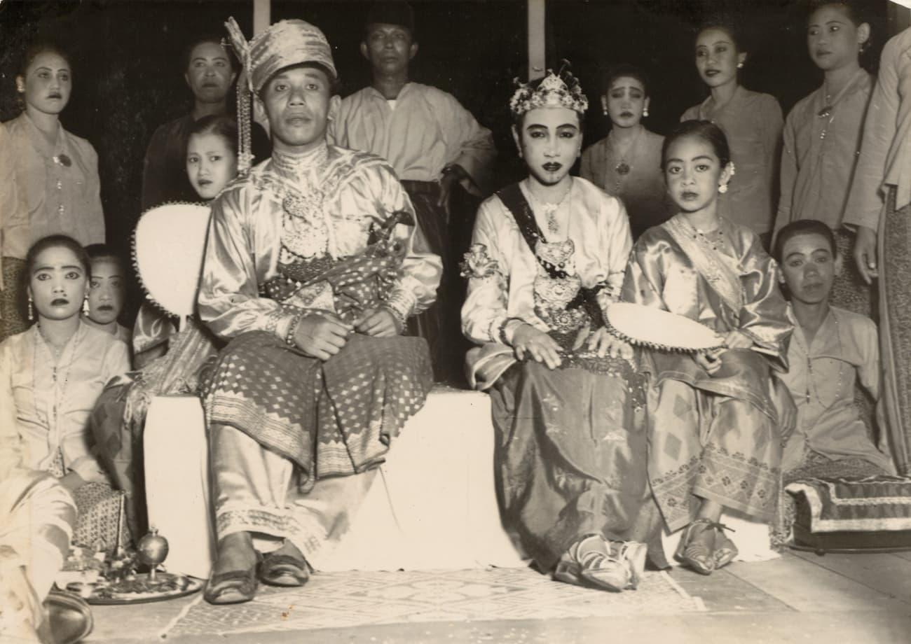 马来婚礼,1938年