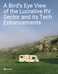 A Bird's Eye View of the Lucrative RV Sector and its Tech Enhancement Cover
