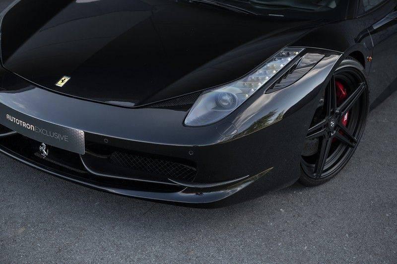 Ferrari 458 4.5 V8 Italia New Power Garantie T/M 12-03-2022, Carbon Sport Seats, Custom Exhaust, Carbon exterieurdelen afbeelding 9