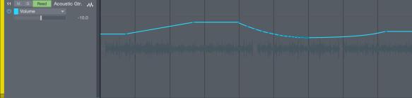 Volume Automation