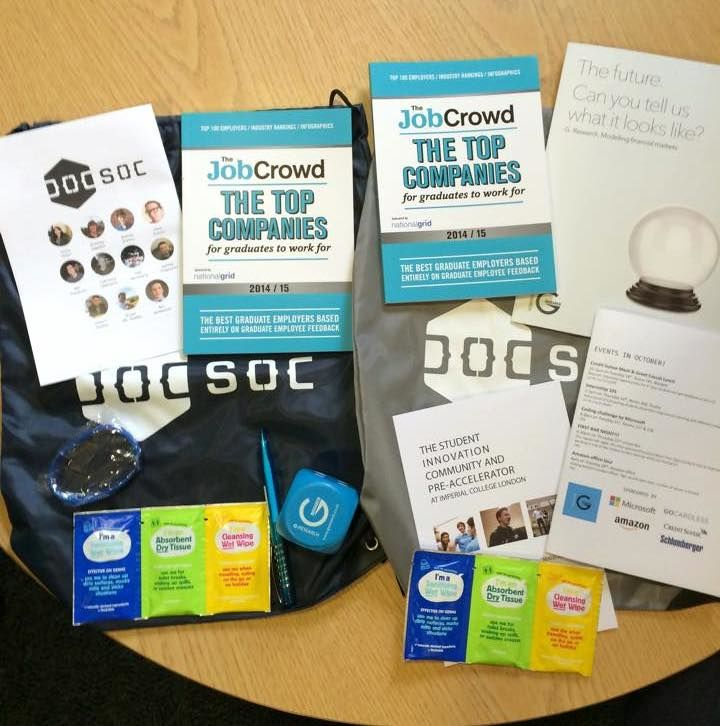 Sponsor swag in our swag bags!