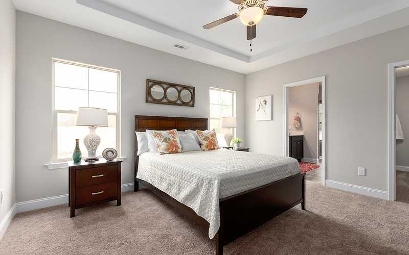 Interior of one of the new homes at The Falls at Meehan, Pendleton, SC (near Clemson University)