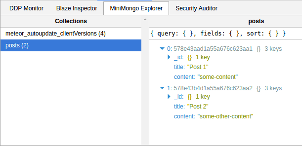 Subscribed data in MiniMongo | meteor publications and subscriptions
