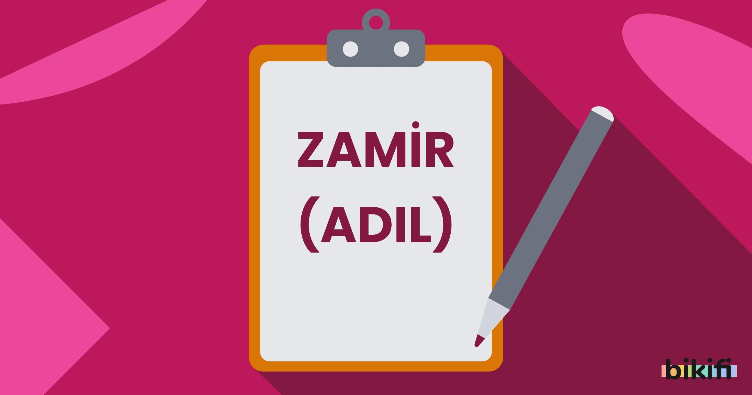 Zamir (Adıl) Nedir? Zamir Çeşitleri Nelerdir?