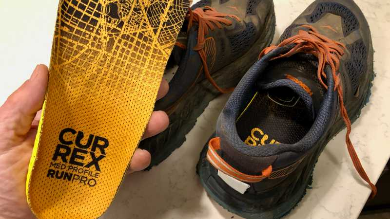New insoles for my hiking shoes