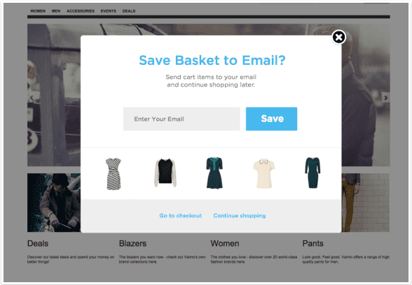 3 save to email exit intent popup