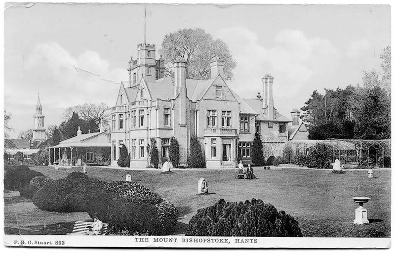 The historic mount at Bishopstoke Park.