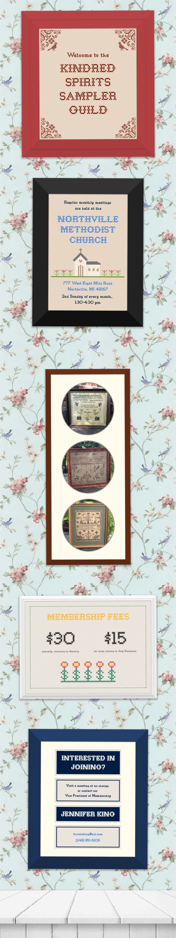 Kindred Spirits Sampler Guild website