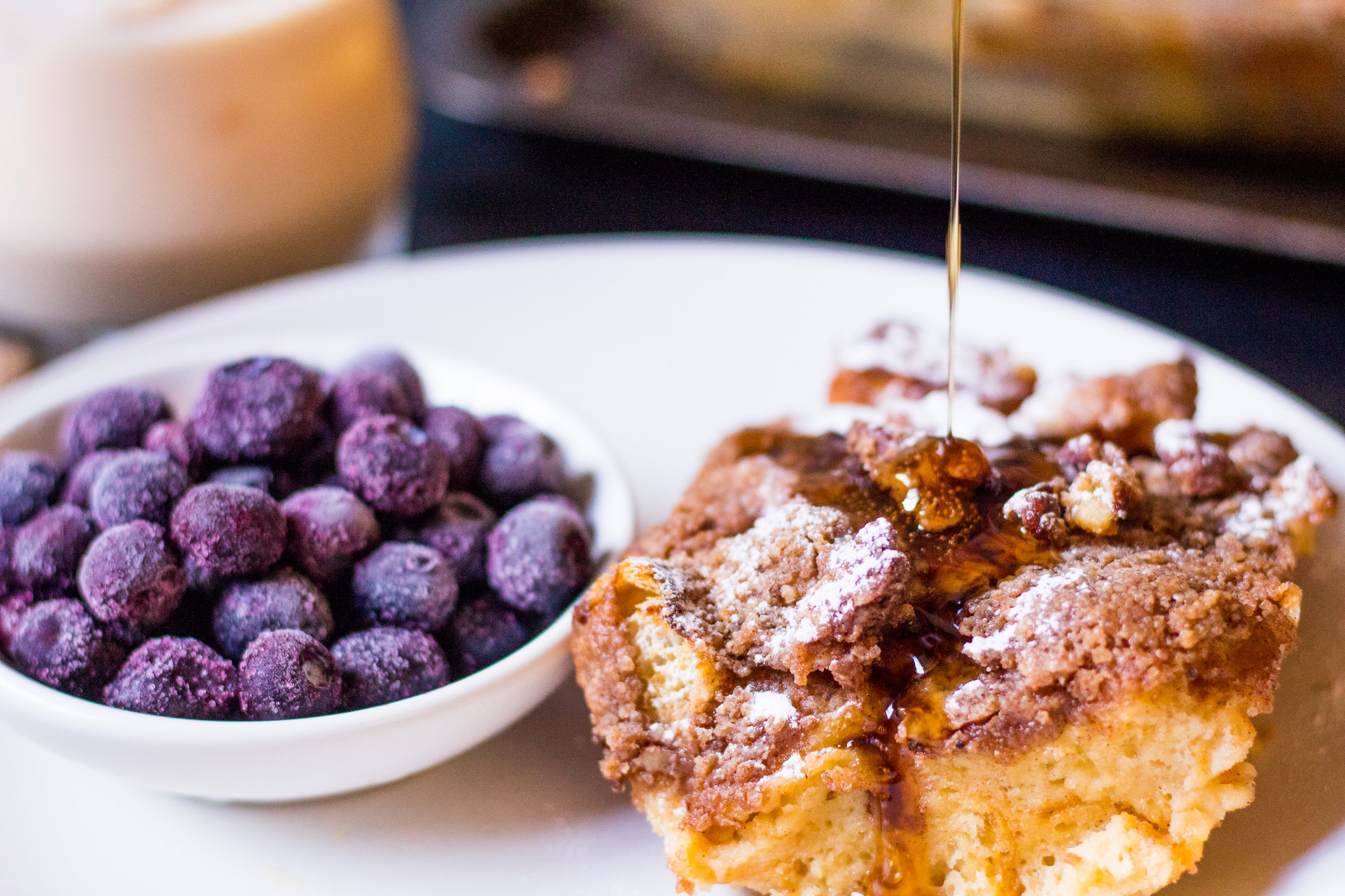 Ponche de creme French Toast