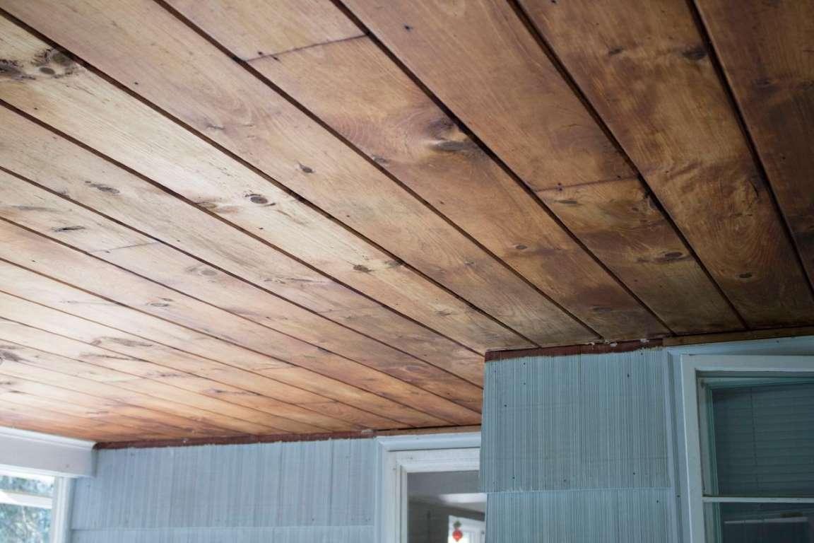 Wooden False Ceilings intrior.com