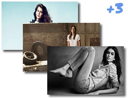 Kaia Gerber theme pack
