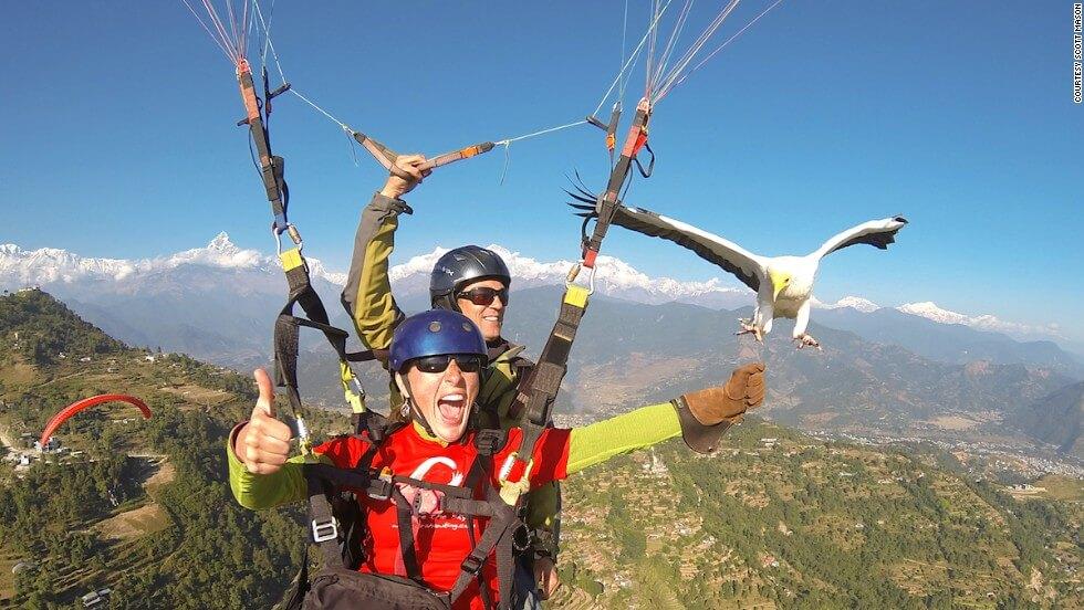 ParaHawking in Nepal - Pokhara