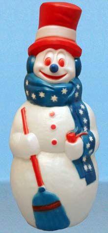Patriotic Snowman photo