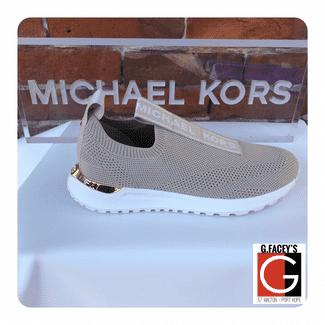 Micheal Kors Bodie Slip-on Sneaker Light Sand
