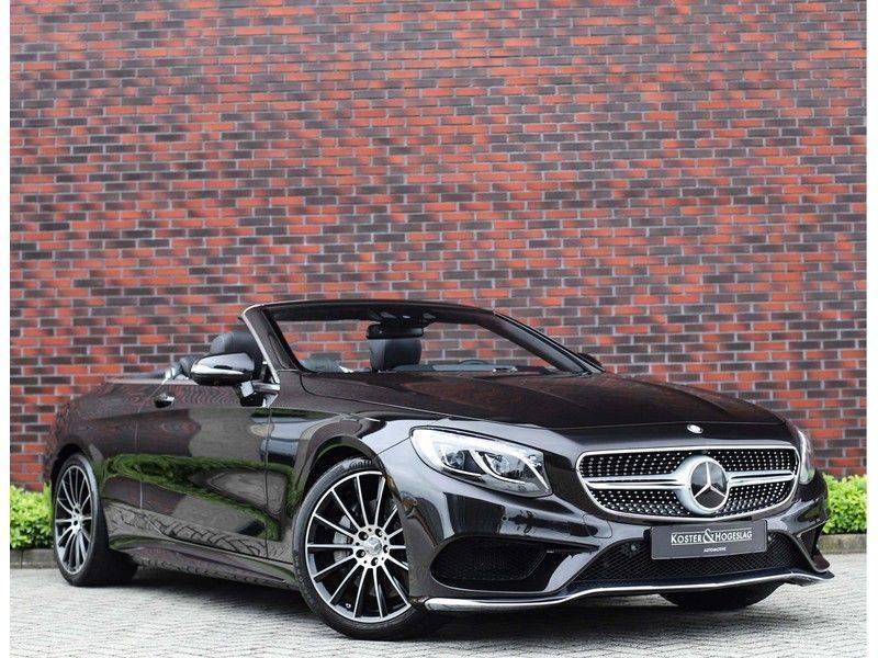 Mercedes-Benz S-Klasse Cabrio 500 *Designo*AMG*Airscarf*Full option* afbeelding 1