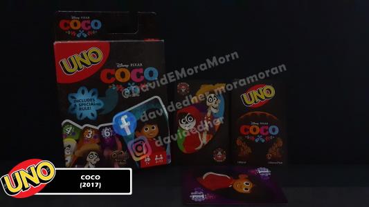 Coco Uno Card Game