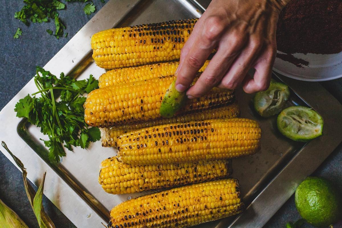 Indian Grilled Spiced Corn