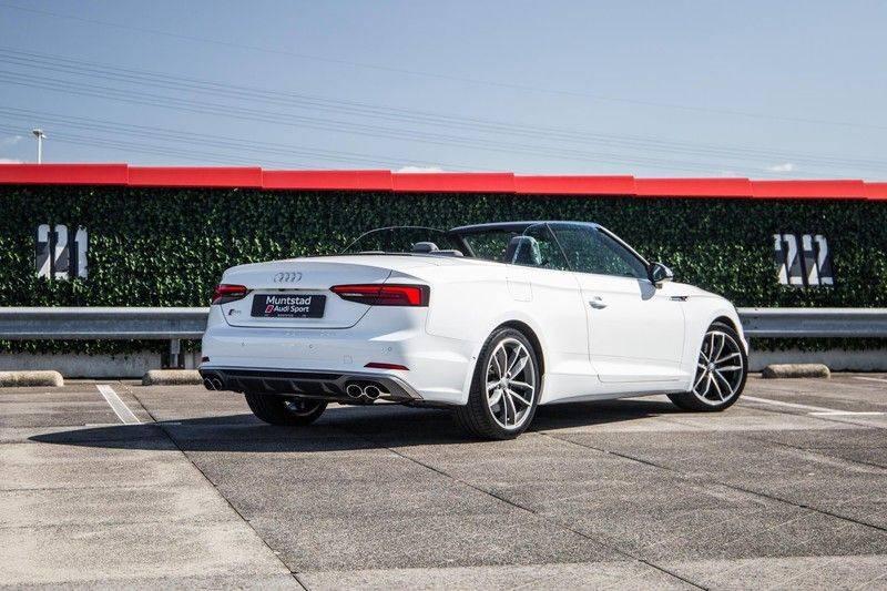 Audi S5 Cabriolet 3.0 TFSI S5 quattro | 354 PK | S-Line | B&O Sound | Assistentie City-Parking | S-Sportstoelen | Virtual Cockpit | Keyless-entry | Massage-Stoelen | afbeelding 6
