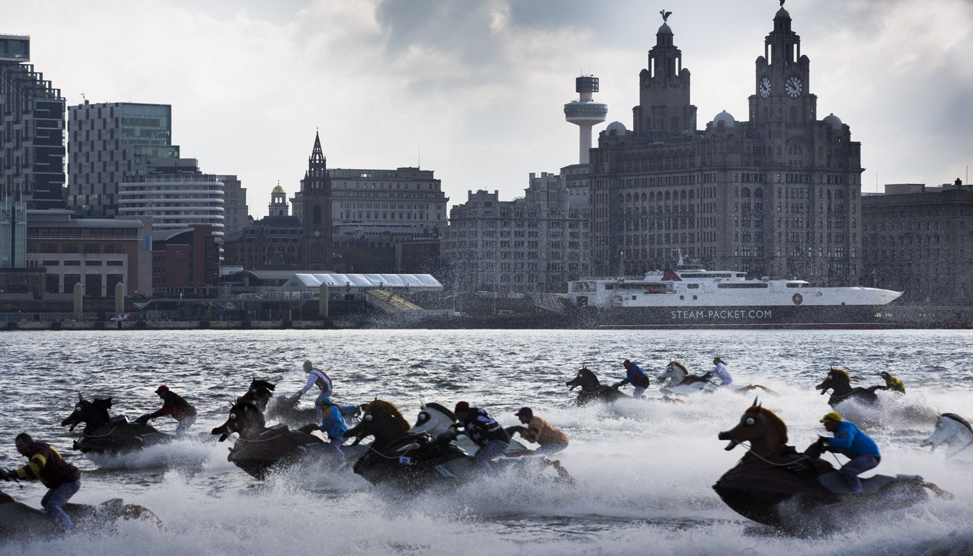 After the race on the Mersey