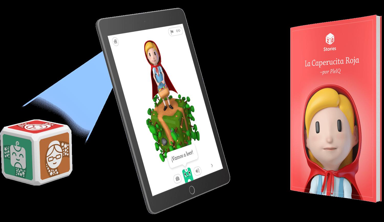 Cubo, App y Libro