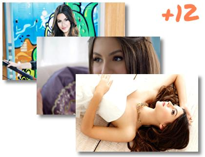 Victoria Justice theme pack
