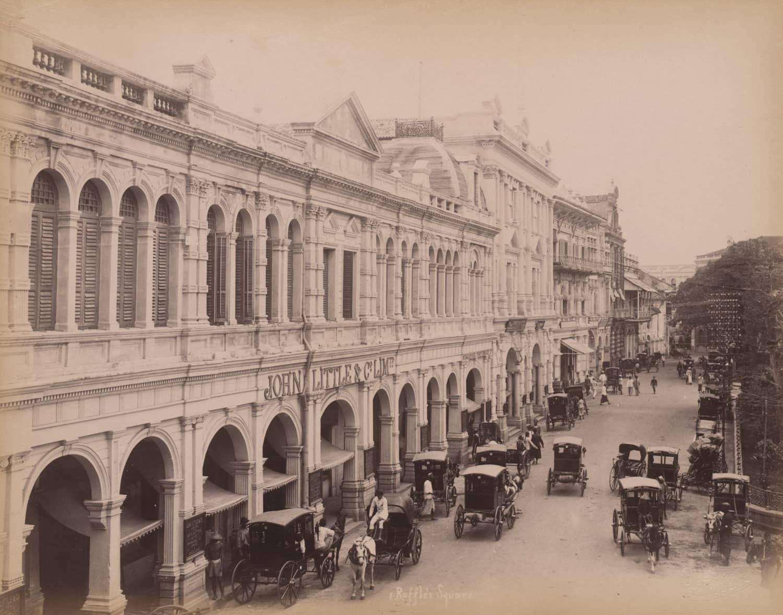 Shopfront of John Little & Co., 1890s