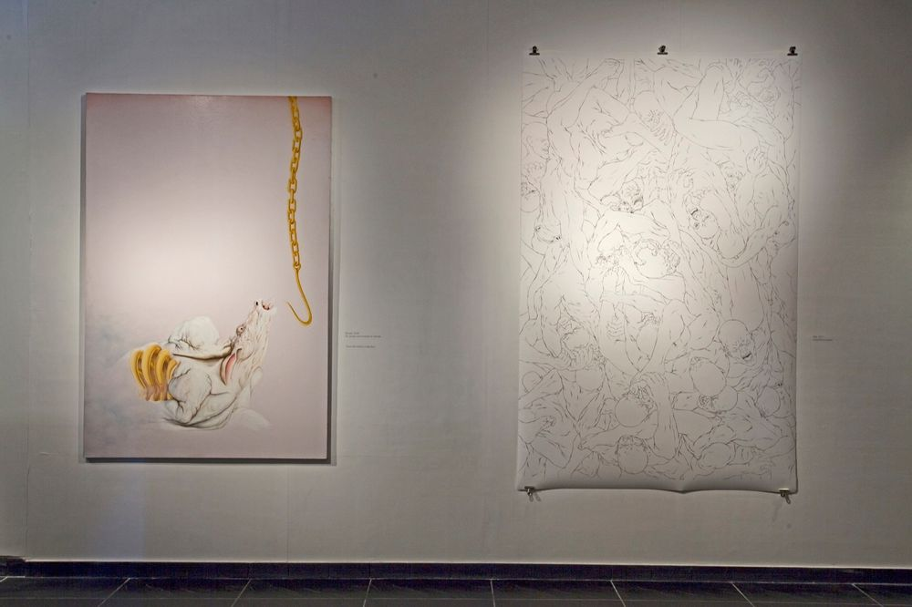 Installation view, Ballad of the War that Never was and Other Basterdised Myths, TAO Art Gallery, 2011