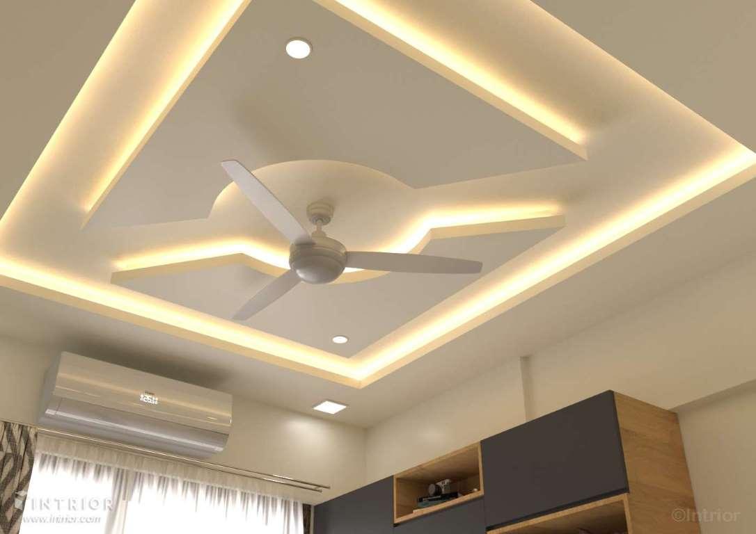 Guest Room Design False Ceiling Design