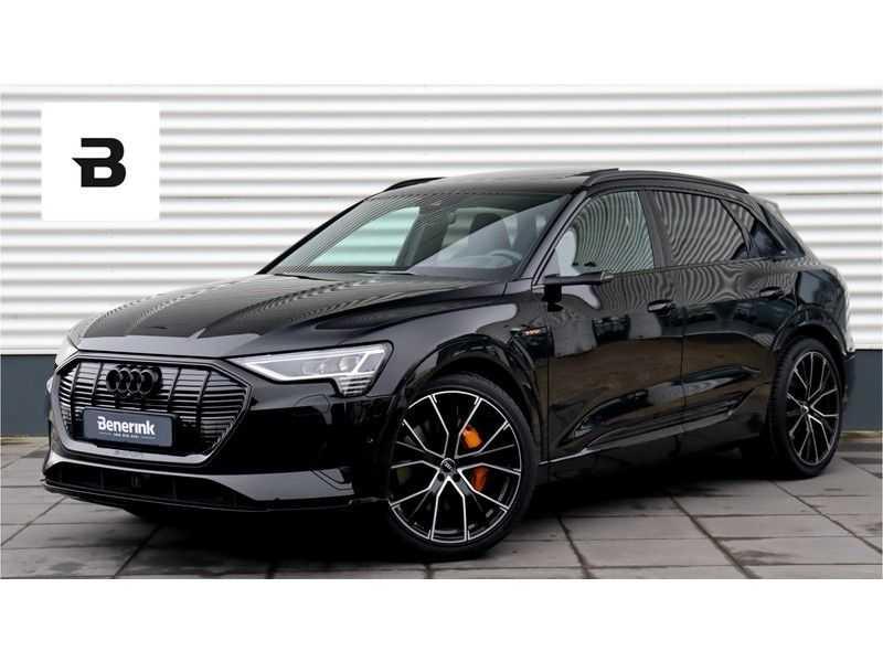 Audi e-tron 55 quattro Advanced S Line excl. BTW Panoramadak, B&O, S Sportstoelen, DAB, Head-Up Display afbeelding 1