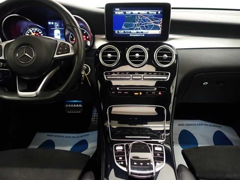 Mercedes-Benz GLC 250D 4MATIC 204pk 9G-Tronic AMG Edition- Panodak, Leer, Navi, Camera afbeelding 18