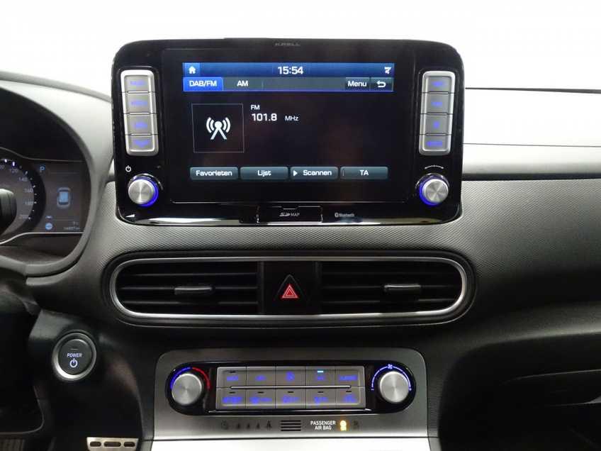 Hyundai Kona EV Premium 64 kWh EX BTW 4% Leder Navigatie Clima Cruise Camera HUD  460 KM op 1 Lading! afbeelding 13