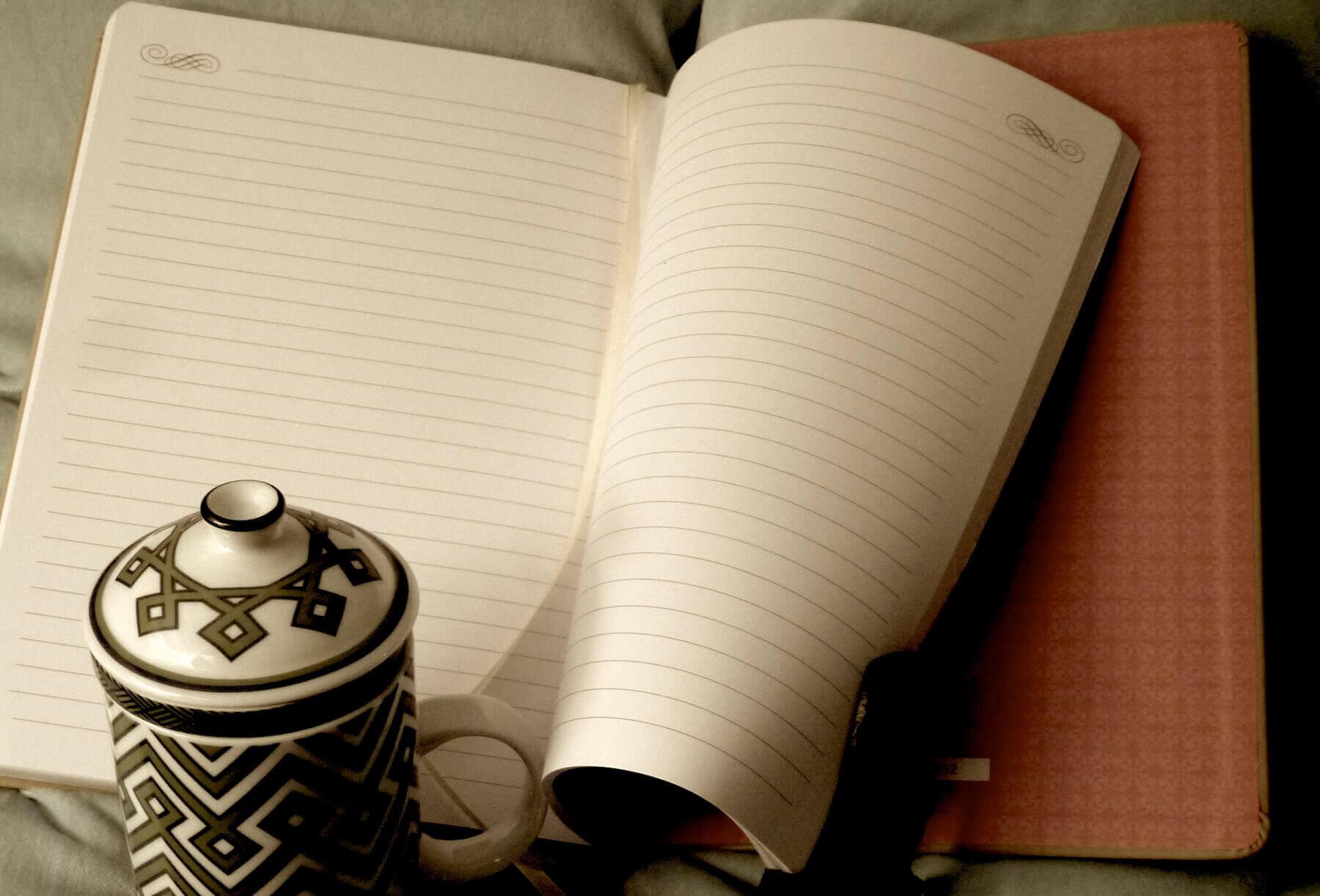 Italian leatherette journal by Markings